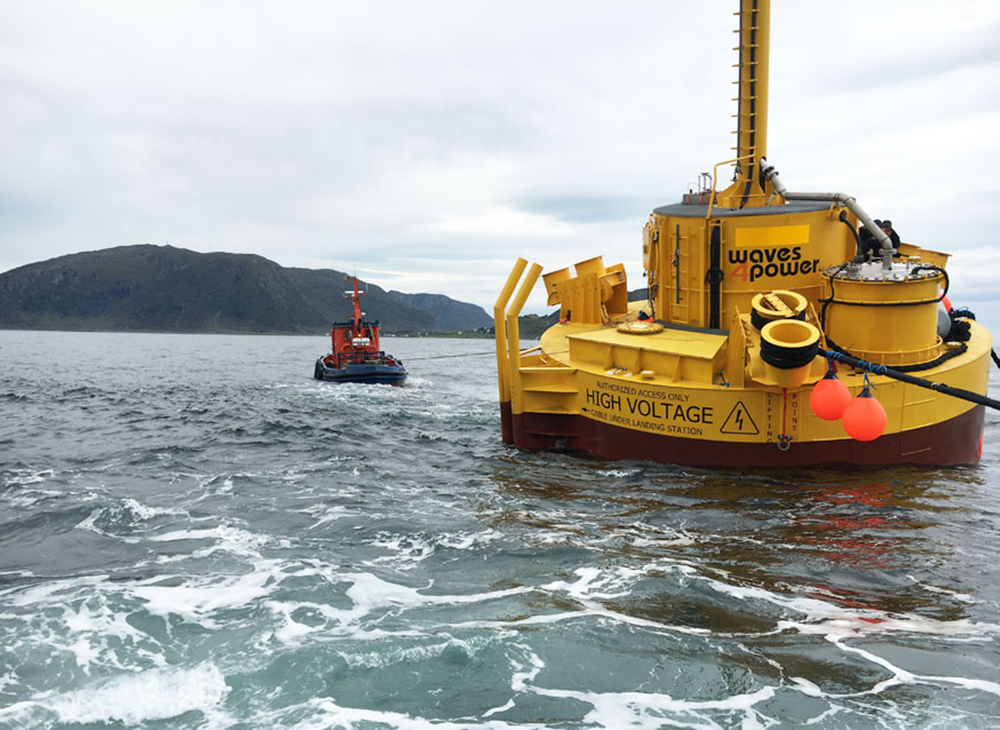 Press  Release:  World  Unique  Wave  Power  Breakthrough